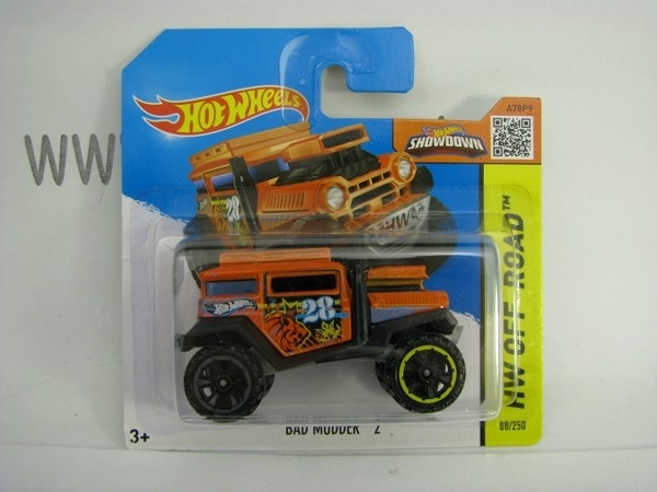 Hot Wheels 2015 Bad Mudder 2 HW Off-Road CFK43